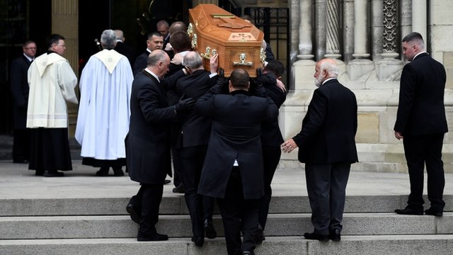 Lyra McKee: Funeral taking place at St Anne's Cathedral