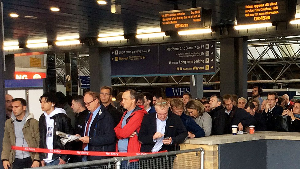 Paddington station: Passengers face major disruption