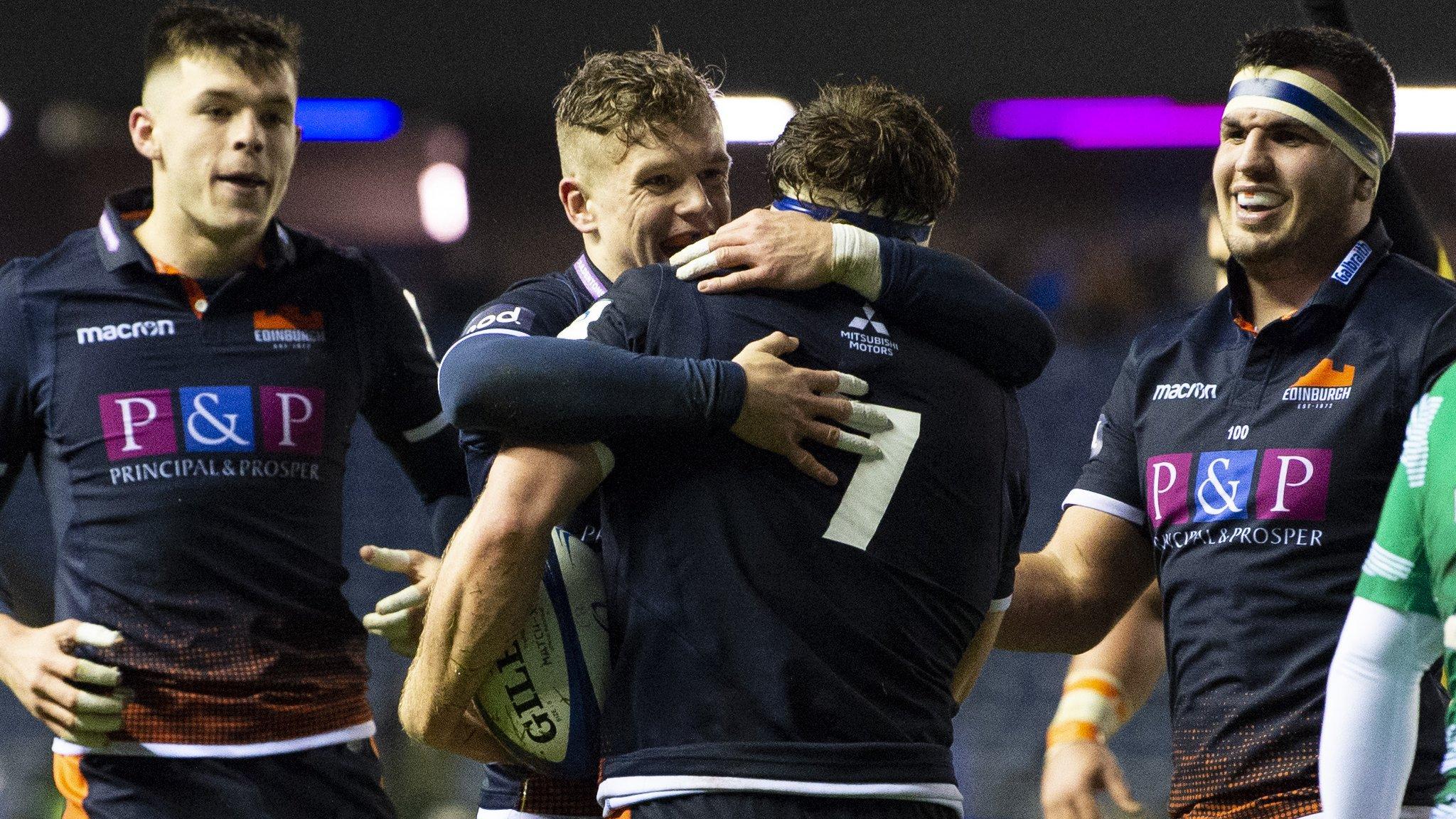 European Rugby Champions Cup: Edinburgh 31-13 Newcastle Falcons