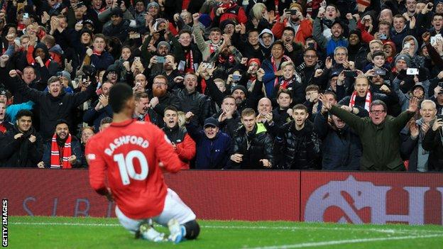 سجل ماركوس راشفورد 21 هدفا لمانشستر يونايتد في هذا الموسم