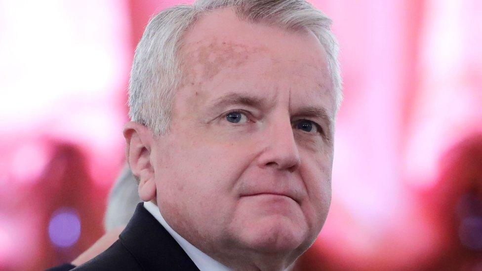 Посол США в Москве Джон Салливан покидает Россию
