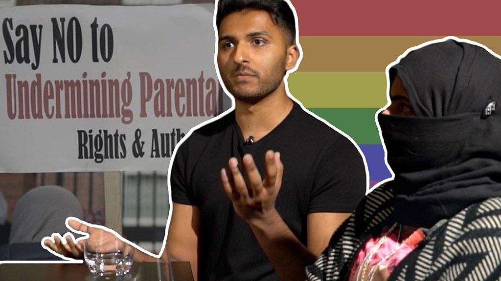 School LGBT teaching row: Gay, Muslim and Parkfield
