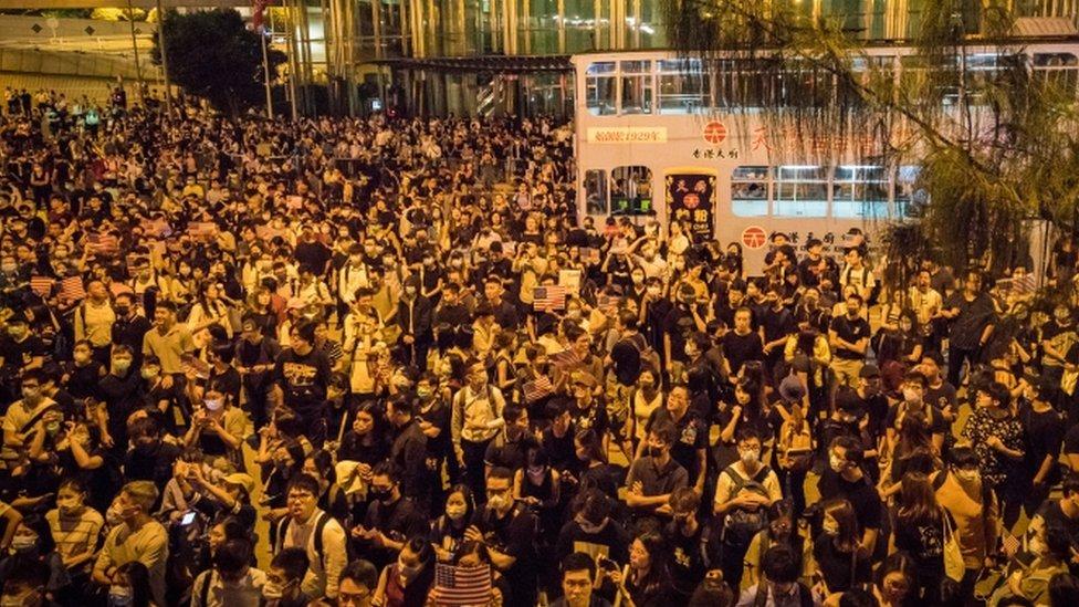 احتجاجات في هونغ كونغ
