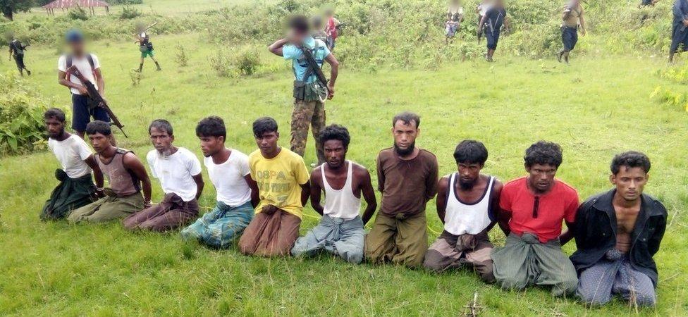 Deset Rohindža muslimana koji su ubijeni