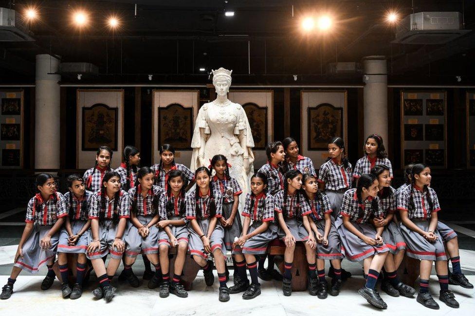 تحول بيت نائب الملك الان الى متحف رئاسي في الهند