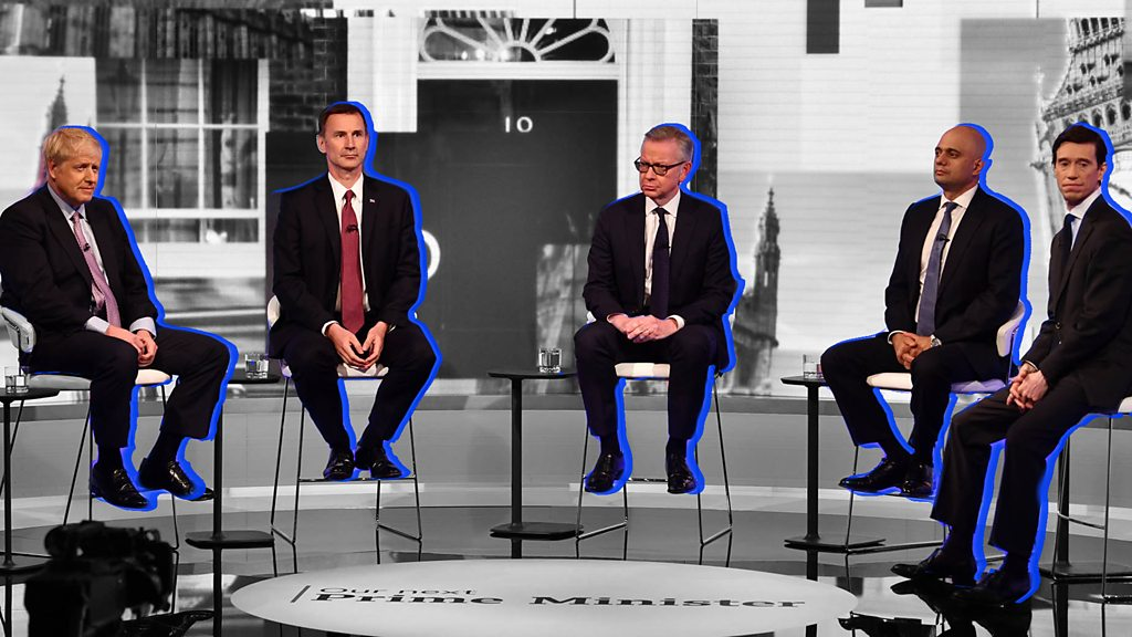 Tory leader debate: 5 candidates, 5 things
