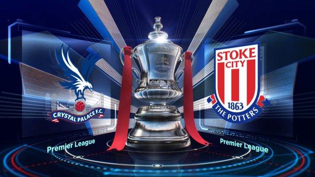 Highlights: Crystal Palace v Stoke