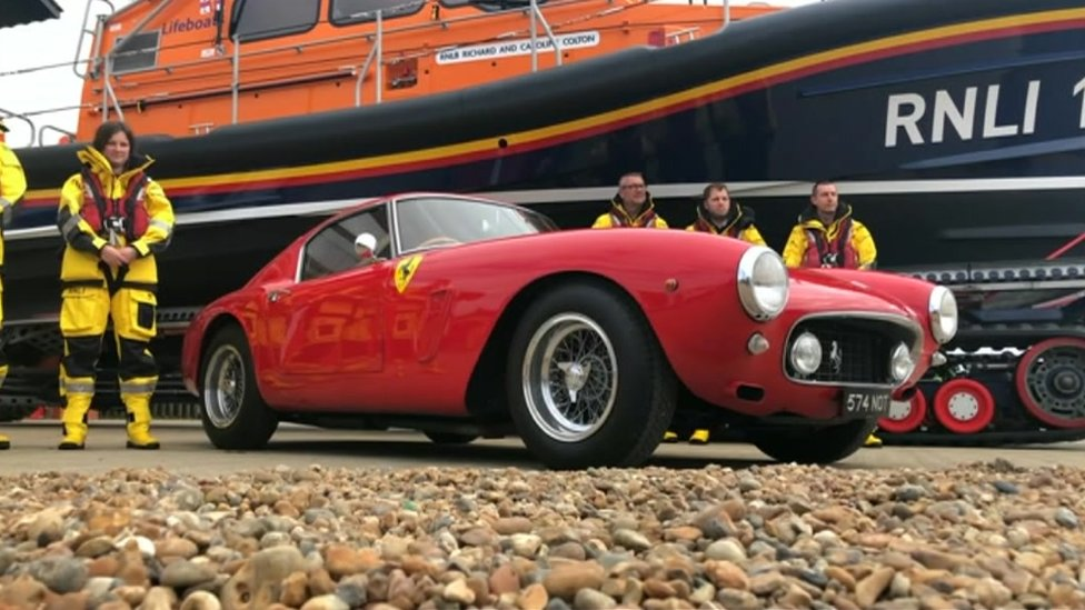 Ferraris donated to RNLI help buy new lifeboats