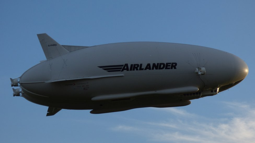 Airlander 10: £1m grant for craft to go 'all-electric'