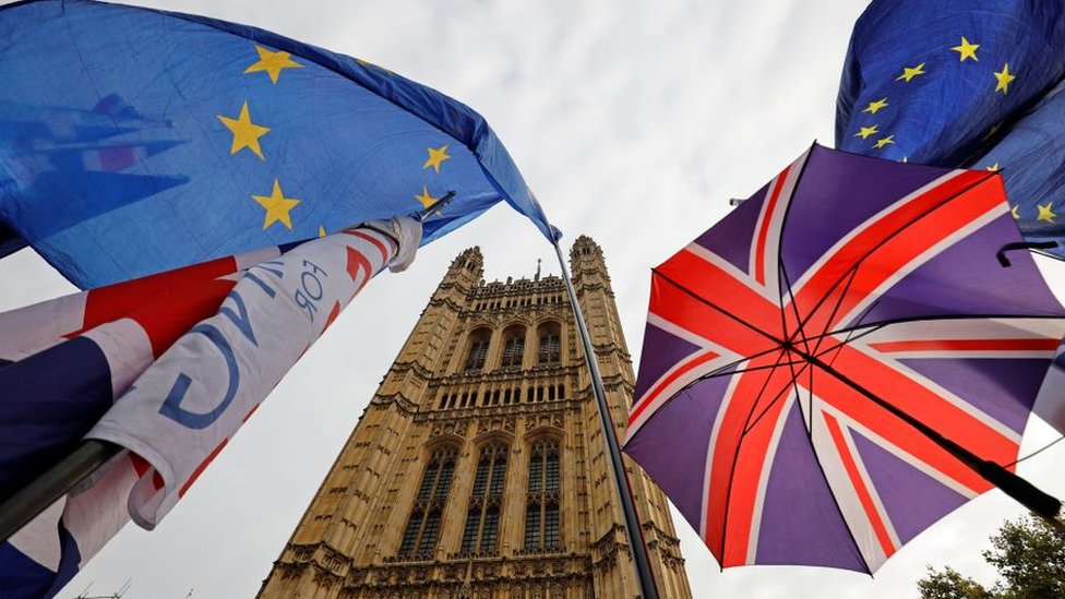 Flags in Westminster