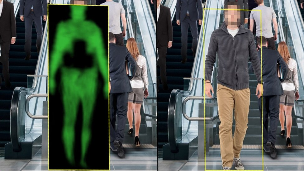 Body scanners to screen LA subway riders