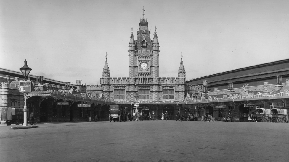 Bristol Temple Meads station, 1926