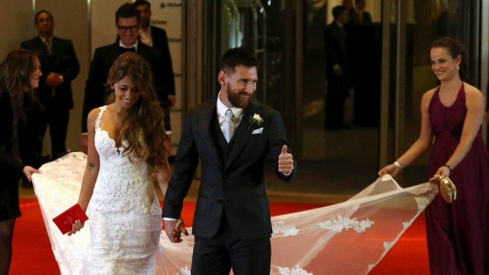 Argentina Hosts Lionel Messi S Wedding Of The Century Bbc News