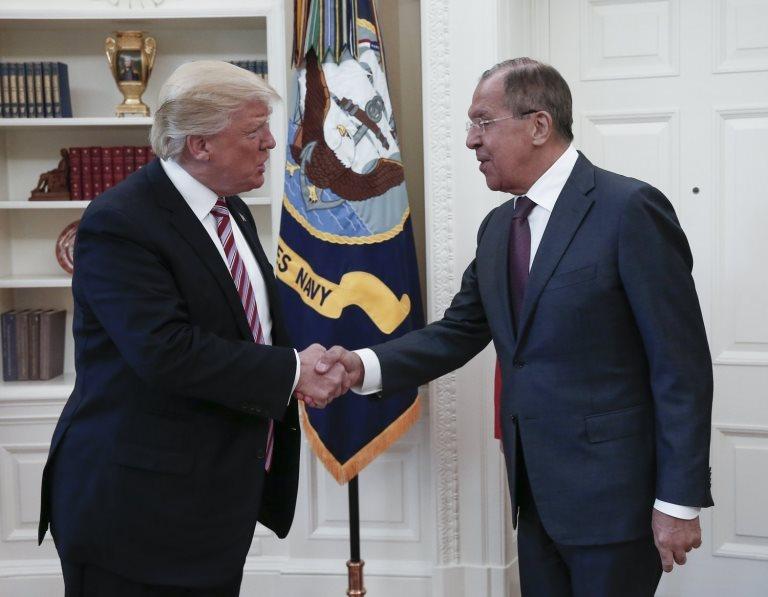 Trump y Lavrov