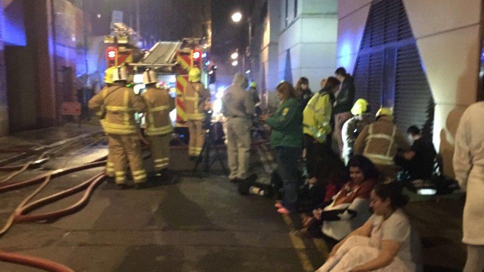 Leicester arson block residents 'living on edge'