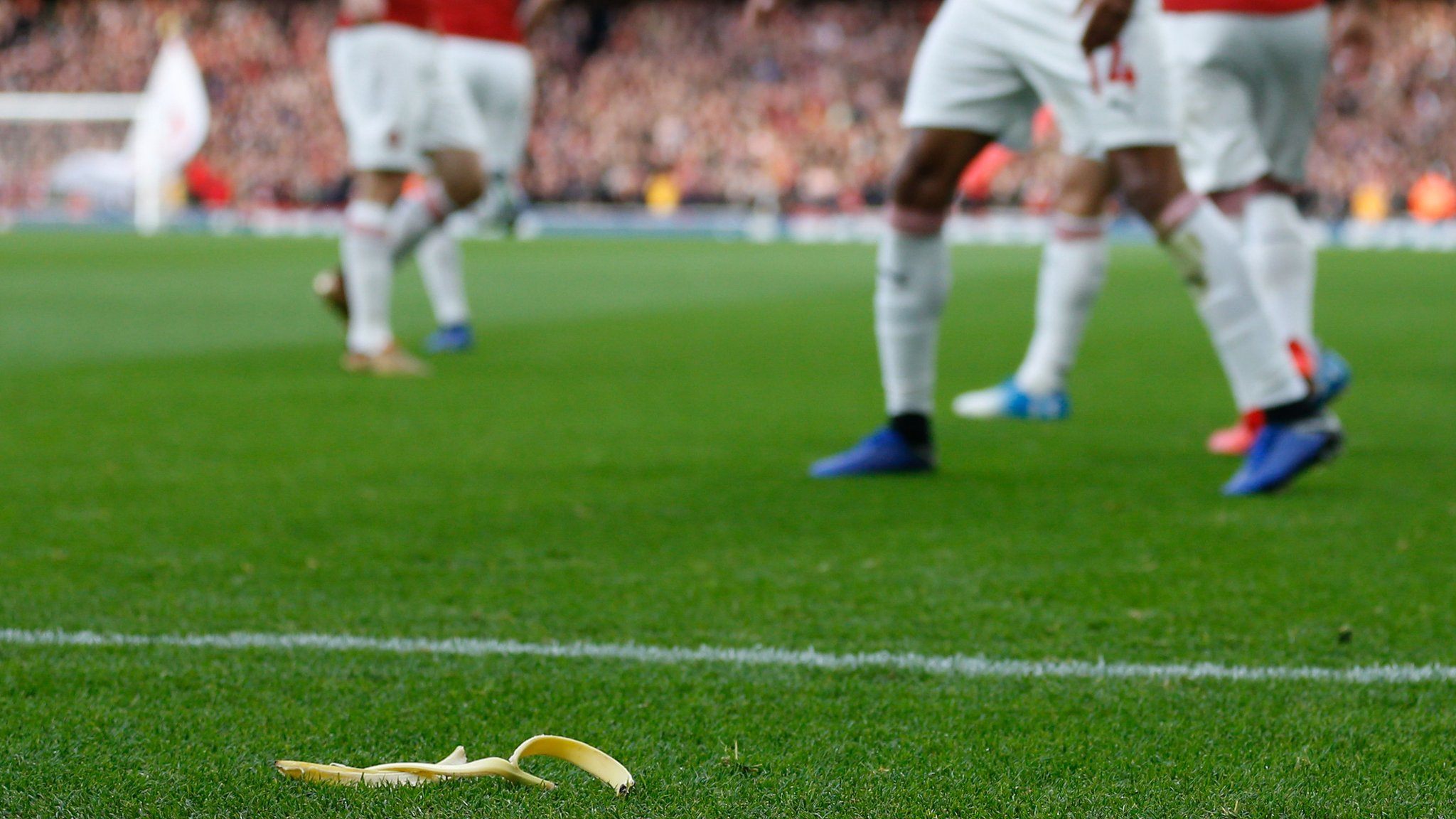 Tottenham fan fined and banned for throwing banana skin at Arsenal