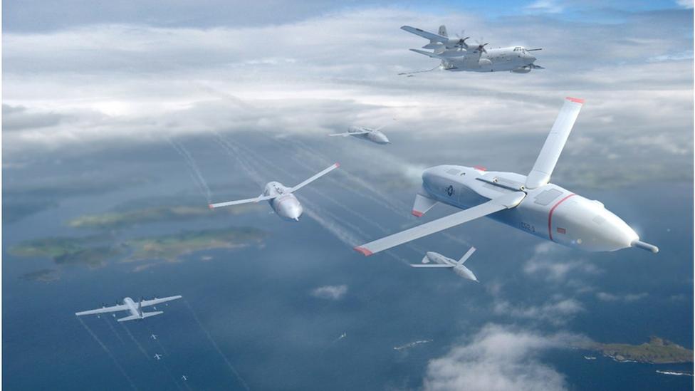 Gremlin swarm drones
