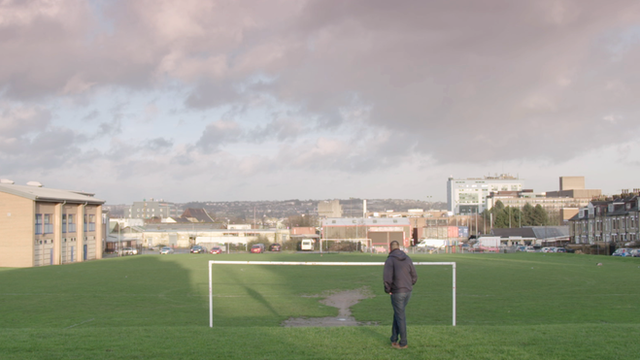 Alpha United's football pitch in Bradford