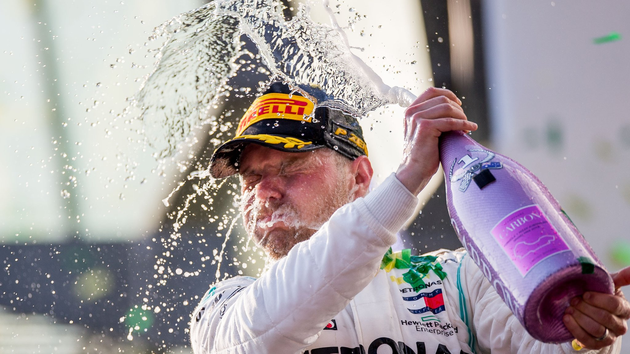 Valtteri Bottas - no more just Lewis Hamilton's wingman