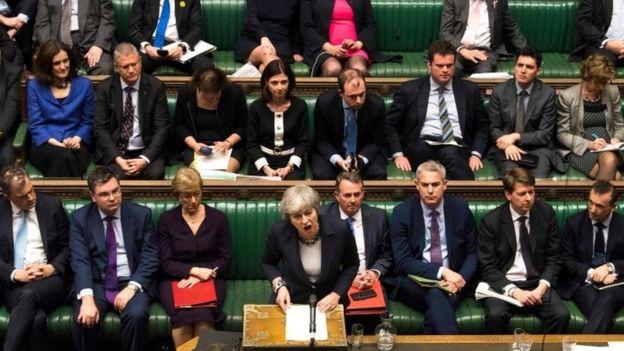 البرلمان البريطاني يناقش الخروج من الاتحاد الأوروبي