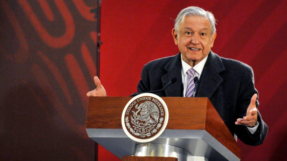 NO USAR / BBC. Andrés Manuel López Obrador.