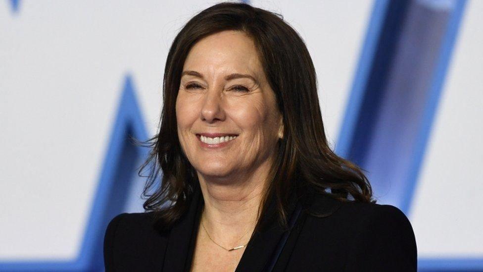 Bos Lucasfilm Kathleen Kennedy termasuk yang ditiru suaranya.