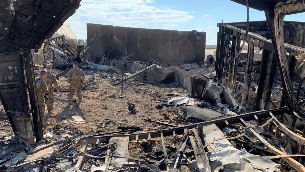 Иранский обстрел привел к черепно-мозговым травмам у 34 военных США