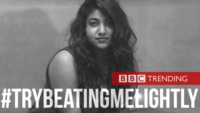 Pakistani women use 'try beating me lightly' in response to controversial bill