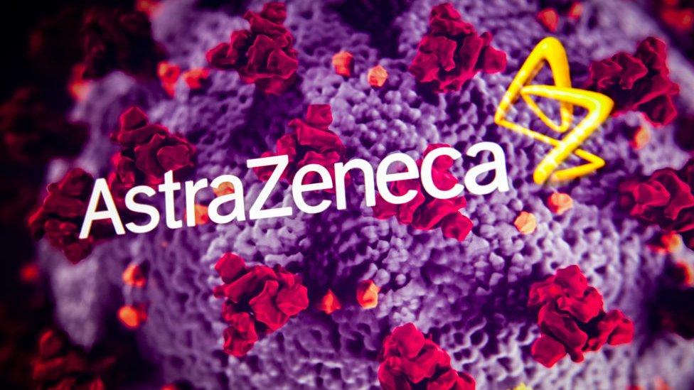 Logos de AstraZeneca