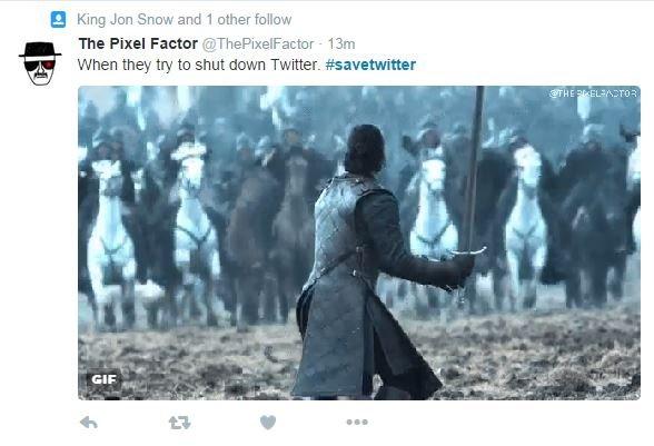 Man in battle