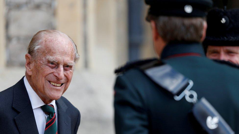 El príncipe Felipe, duque de Edimburgo