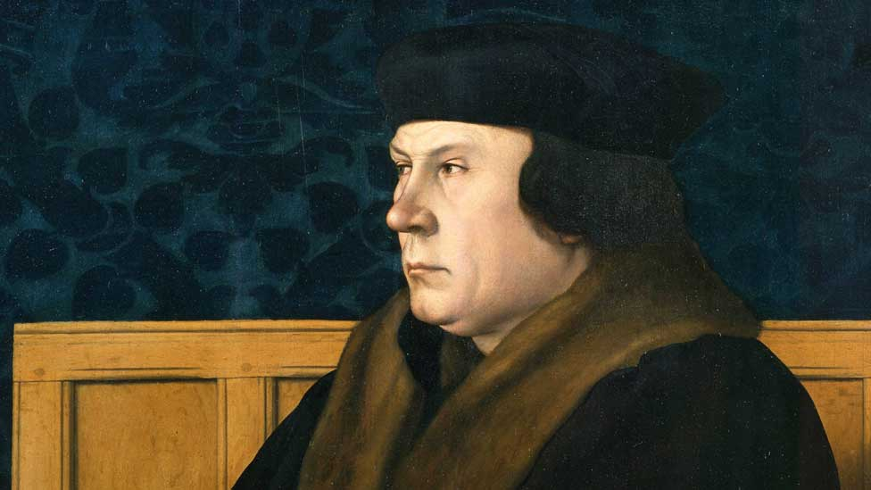 Portrait of Thomas Cromwell attributed to Hans Holbein the Younger