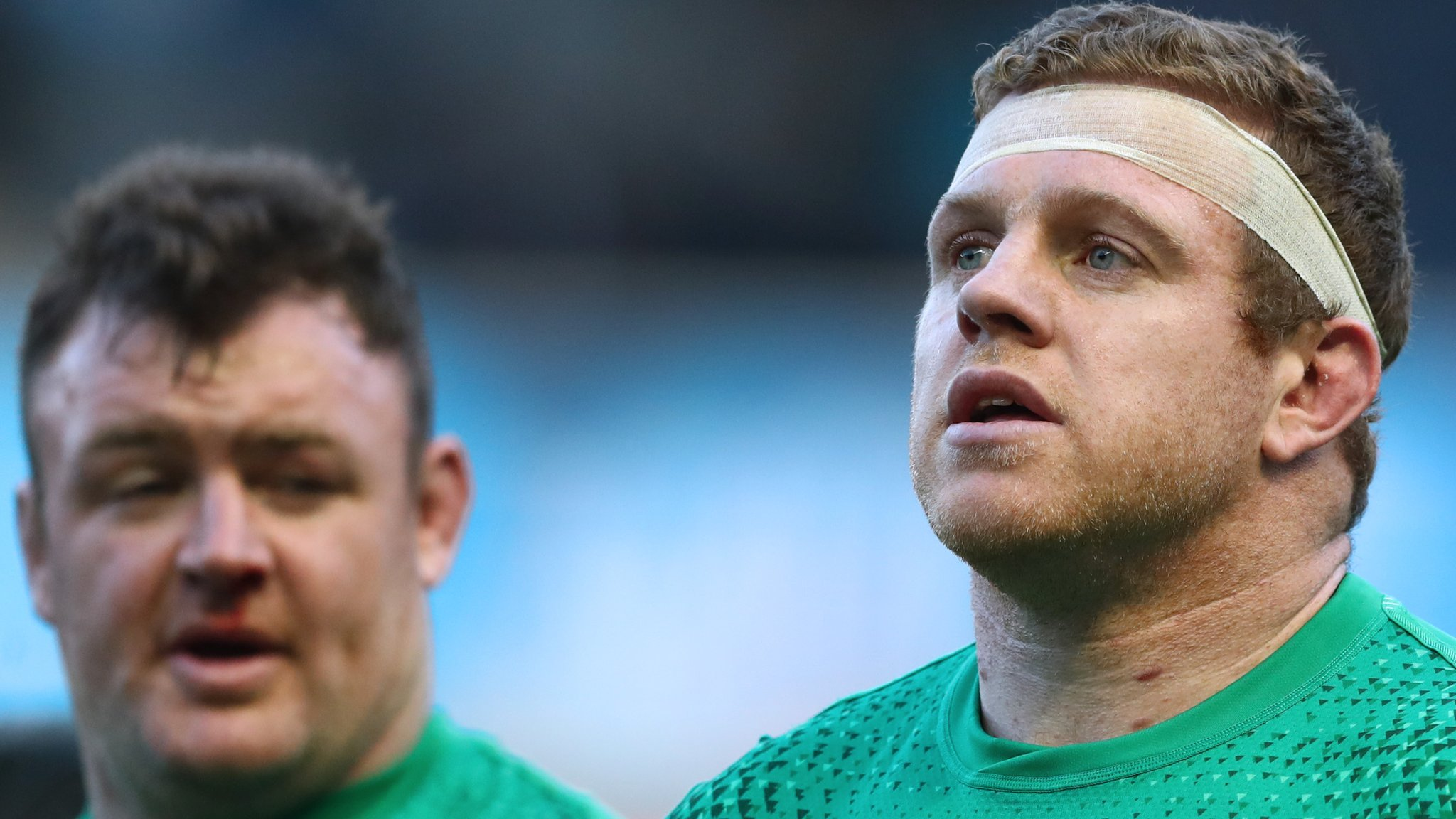 Ireland change four forwards for trip to Italy