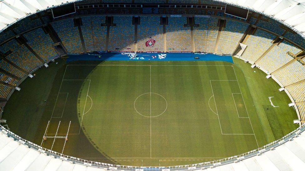 Estadio Maracaná, Brasil.
