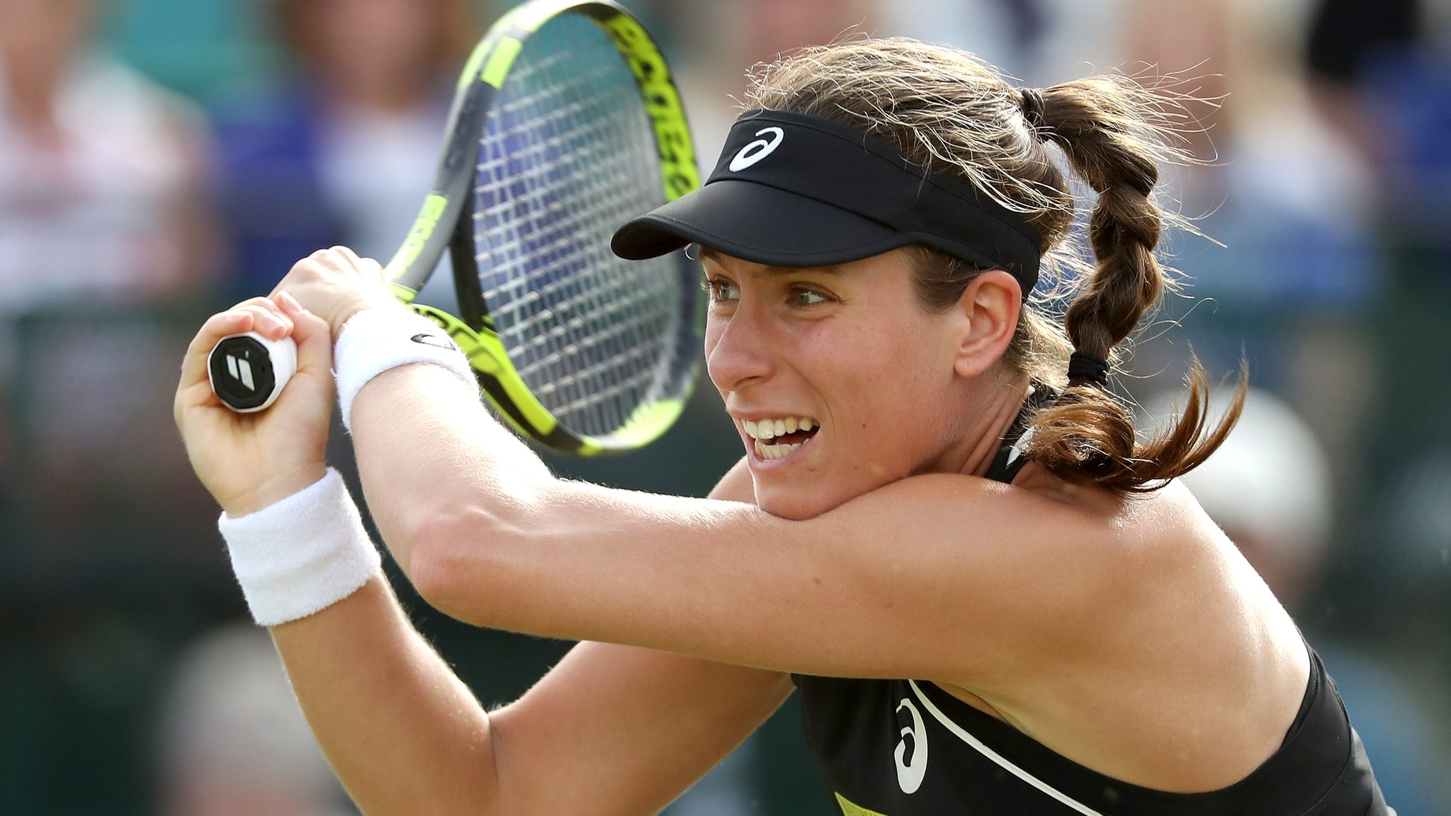 Nature Valley Open: Johanna Konta reaches Nottingham final
