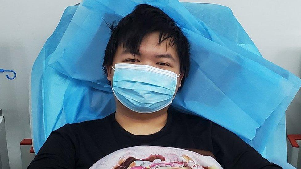 Tiger Ye hastalığı sırasında ailesinin değerini daha iyi anladığını söylüyor.
