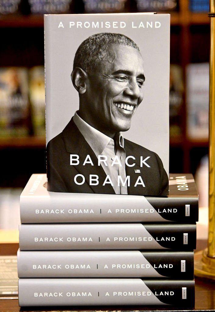 مذكرات أوباما بعنوان أرض الميعاد
