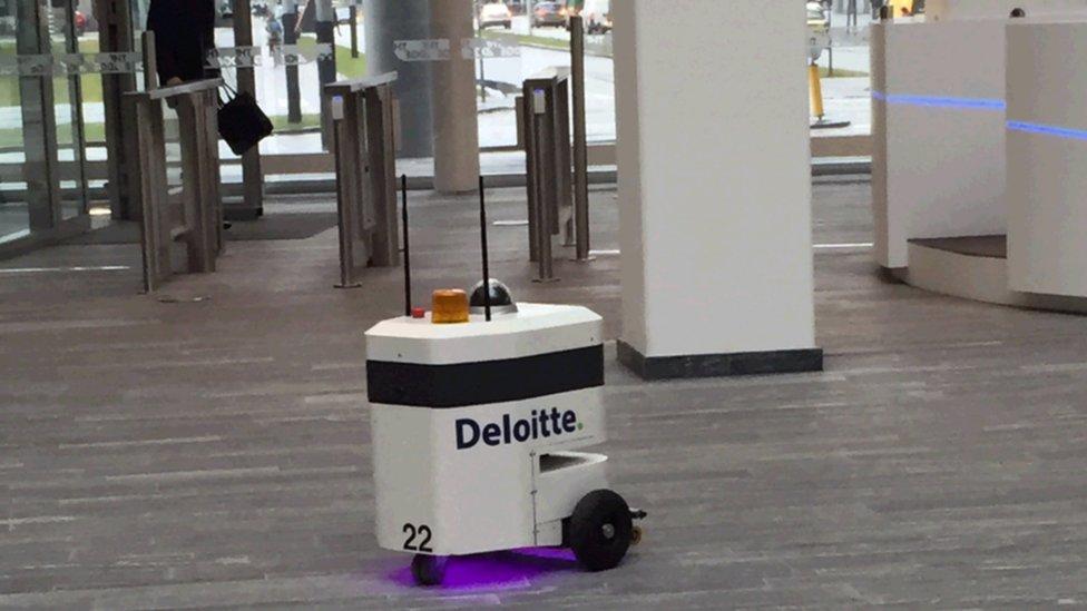 Deloitte's robot security