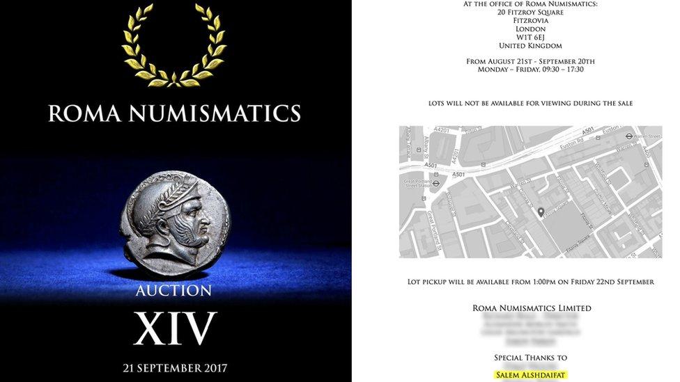 Roma Numismatics katalogunda yer alan İskender sikkesi satışı için