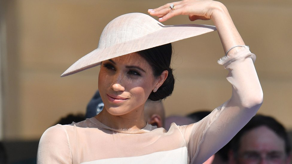 Harry and Meghan attend first royal event since wedding