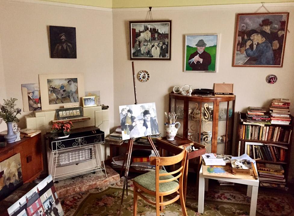 Eric Tucker's parlour/studio