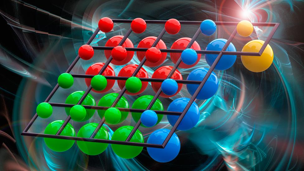 Ilustración de supersimetría
