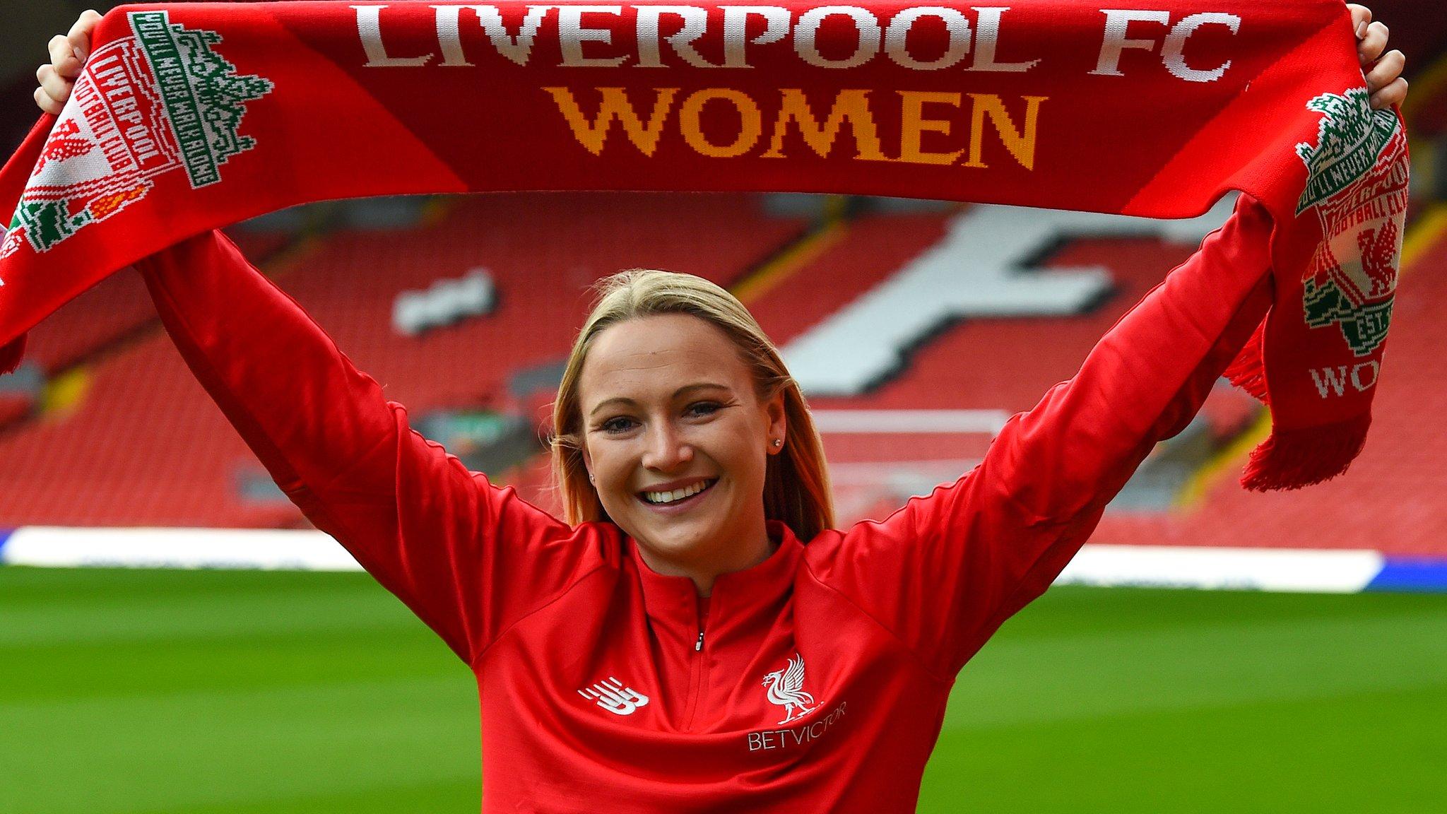 Jemma Purfield: Liverpool Women sign England Under-23 winger