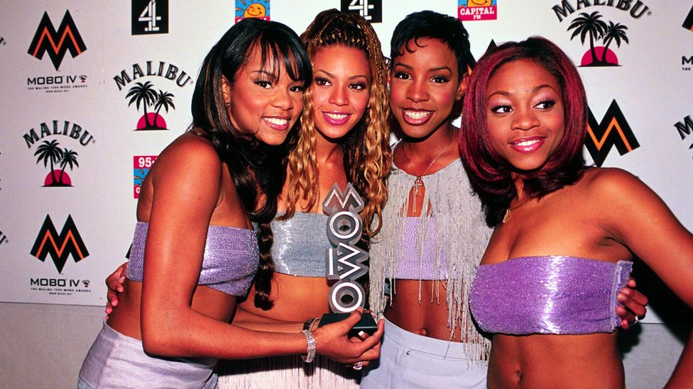 Destiny's Child at the MOBOs in 1999