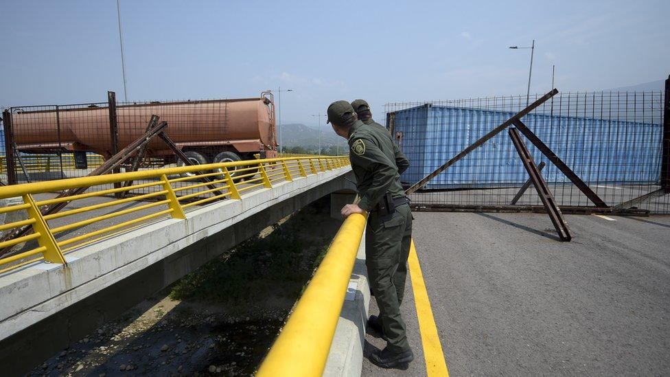 Puente entre Venezuela y Colombia