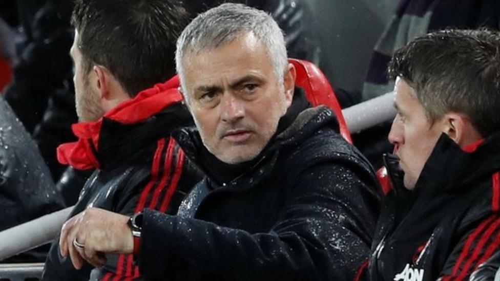 إقالة جوزيه مورينيو من تدريب مانشستر يونايتد