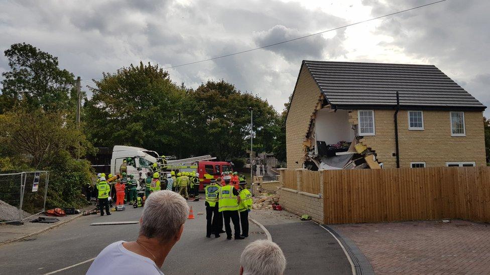 Barnsley lorry crash: Man admits causing death of woman