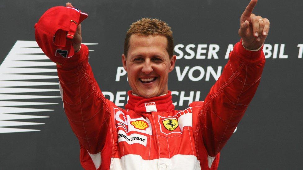 Michael Schumacher en 2006.