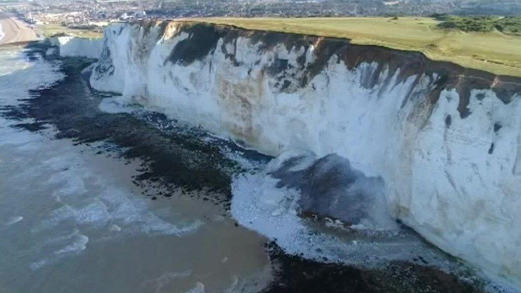 South coast cliff falls spark #BeCliffAware selfie alert