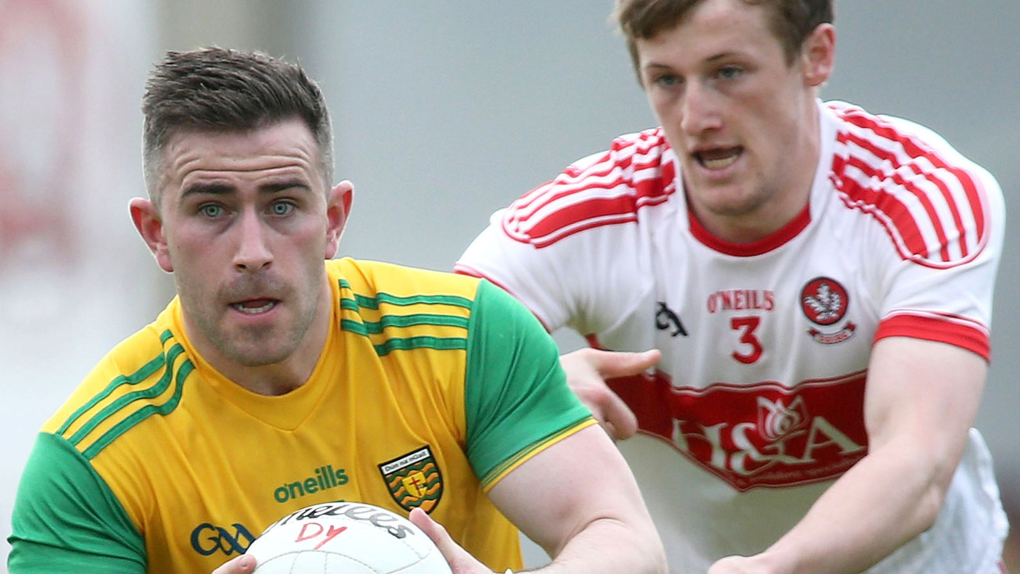 Ulster SFC: Derry 0-16 Donegal 2-16